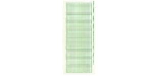 Nailon kudumismasina perfokaart 24 augurivi roheline