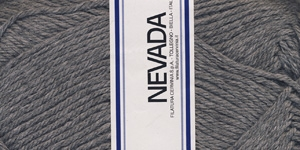 Poolvillane lõng Nevada; Värv 1230 (Hall), Lane Cervinia