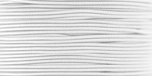 Elastic Cord Ø 1,2 mm / Colour no. 1101, White
