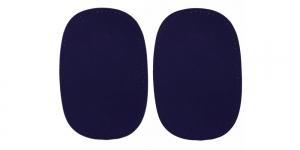 Triigitavad ehk kuumkinnituvad veluurpaigad, 2 tk, 10 cm x 15 cm, Pronty, tumesinised, navy 054