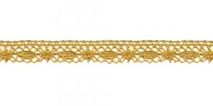 Metallikniidist pits 3111-28 laiusega 1,5 cm, värv kuldne