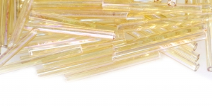 HC46 Kuldsed, läbipaistvad, AB- kattega, 25 mm, HC46