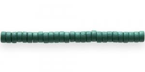 IM41 8x4mm Rohekas lakitud rõngakujuline puithelmes ca. 50tk kmpl