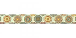 Idamaiste ornamentidega ripspael laiusega 16mm, Art.P1763, värv 87