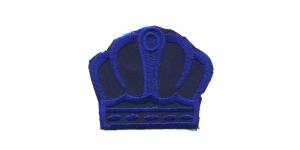 Must tumesinisega kuninga kroon, 6 x 5 cm, AT20