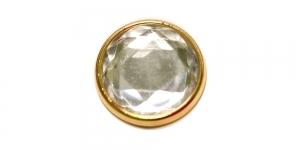 Värvitu kristalliga, kuldse ümbrisega, 20mm, 32L, SFF217