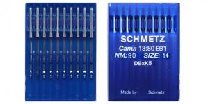 Proffessionaalse tikkimismasina nõel, 10 tk, Schmetz DBxK5 Nr.90 (Size.14)F2