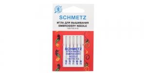 Koduõmblusmasina tikkimisnõelad Embroidery, Schmetz Nr. 75-90