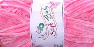 Sametlõng Soft Baby, Madame Tricote, Värv 507 Fuksiaroosa