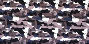 Kamuflaaž-mustriga lükrakangas, Badeanzug bedruckt, 130.055, 5002