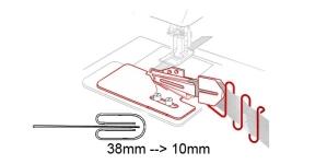 4-fold Binder 38 mm --> 10 mm, KL0437 PRO+