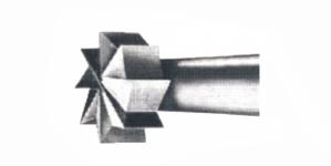 Freesimisotsak kettakujulise peaga, 0,6 mm, TN1 006