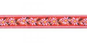 Helepunane pael valgete õitega, Art.9451150, värv 550
