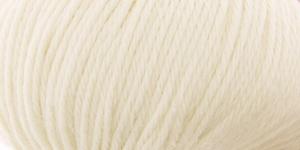 Siidi ja alpakavilla sisaldusega lõng Almeria, värv nr.1 naturaaalvalge
