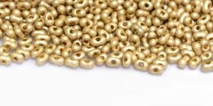 Farfalle, Kuldsed läbipaistmatud matid, 2 x 4 mm, HR70