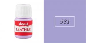 Краска по кожи, кожзама, Darwi Leather, 30мл, Lilac 931