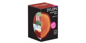 Konepesuväri DYLON Fabric Dye, UUDISTETTU - sis suolan, 350 g, Ruusupuu punainen, Rosewood #64