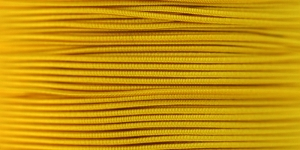Elastic Cord Ø 1,2 mm / Colour no. 4202, Dark Yellow