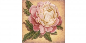 Cross-Stitch Kit Riolis 0071 PT Peony