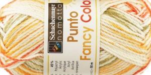 Puuvillasisaldusega lõng Punto Fancy Color Ja Punto Color, värv 282