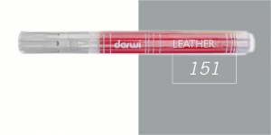 Naha viltpliiats Darwi Leather, 2mm joon, 6ml, COOL GREY 151