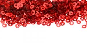 Punased, ümara vormiga litrid, ø3mm, YB255