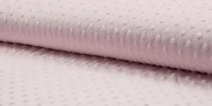 Pehme mummuline fliis Minky Art. KC4008-012, värv roosa