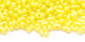 Farfalle, Helekollased pärlmutter, 3,2 x 6,5 mm, HR21