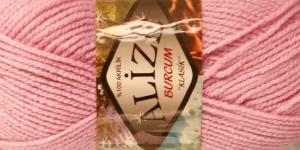 Akrüüllõng Burcum Klasik firmalt Alize, värv 161 vanaroosa
