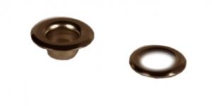Öösikomplekt Lord mõõtudega 5,5mm auk x 5 x 10mm Värv vanavask / old brass eyelets with 5,5mm hole / 20tk/ps/set