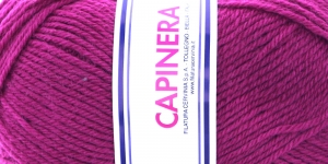 Poolvillane lõng Capinera; Värv 639 (Fuksialilla), Capinera Wool Yarn; Colour 639 (Fuschia), Lane Cervinia
