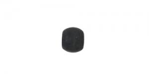 Must matt ümar pärlipidur/helmes / 2mm / JFC1B-1Z