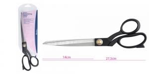 Täismetallist pikad universaalkäärid, kangakäärid, 27,5 cm, Hemline B5441