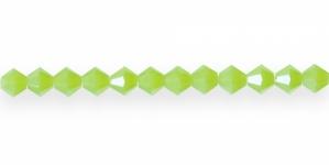 LP85 5mm Õunaroheline piimjas klaaskristall (Green Opal)