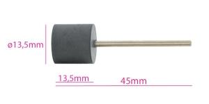 Ku mmist lihvimisketas, abrasiivketas, kuju: silinder, abrasiivne, tumehall KL0972, TM8-3