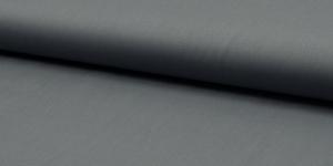 Ühevärviline õrn puuvillane kangas (Popliin), 143cm-148cm, RS0150-161, hall