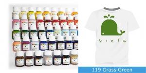 Fabric Paint Vielo, 50 ml #119 Grass Green