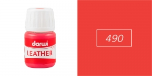 Nahavärvid Darwi Leather, 30ml, VERMILION 490