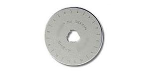 Сменное лезвие, запасные лезвия для нож раскройный, нож дисковый ø45 мм, OLFA, RB-45-1