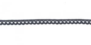 Puuvillane pits 3174-75 laiusega 0,8 cm, värv tume sinakashall