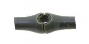ST27 3,5x1,3cm Tumeroheline, plastikust nööp