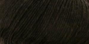 Poollinane, siidja läikega lõng Linie 320 Viscolino, ONline Värv 10 Must