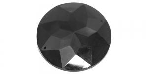 WI3 51mm Must läbipaistmatu dekoraatiivkiv