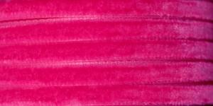Sametpael laiusega 7,5mm Art.3437R / Velvet Ribbon / Värv Nr.405 Fuksiaroosa