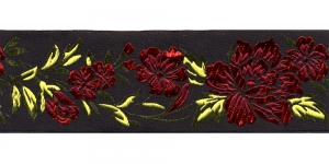 Must, Punase lillemustriga pael 48 mm, Art. 50096, V4