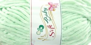 Sametlõng Soft Baby, Madame Tricote, Värv 504 Heleroheline