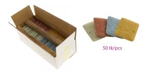 Itaalia kvaliteet-rätsepakriit Narca Forbice Original, 55mm x 45mm, 50tk/karp heleroheline/sinine/kollane/punane