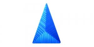 XX70 25x15x10mm Sinine plastikneet
