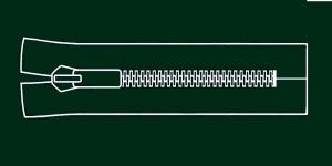 Plast hammaslukk, traktorlukk, Opti 8mm, 15-16cm, alt kinni, värv 5968