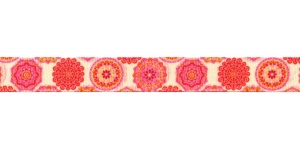 Idamaiste ornamentidega ripspael laiusega 16mm, Art.P1763, värv 76